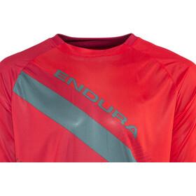 Endura SingleTrack T II LTD Short Sleeve Jersey Men petrol